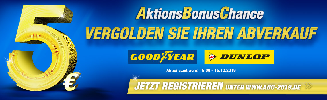 Goodyear AktionsBonusChance